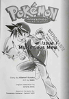 Pokemon Adventures 01 issue 01 title page